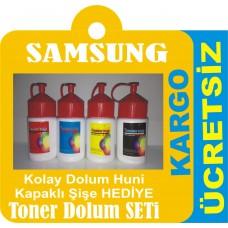 SAMSUNG CLP 315 TONER DOLUM SETİ