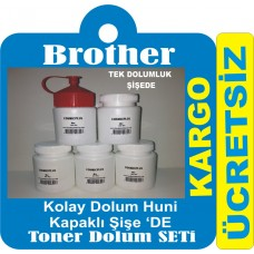 BROTHER DCP 7055 TONER TOZU DOLUM SETİ